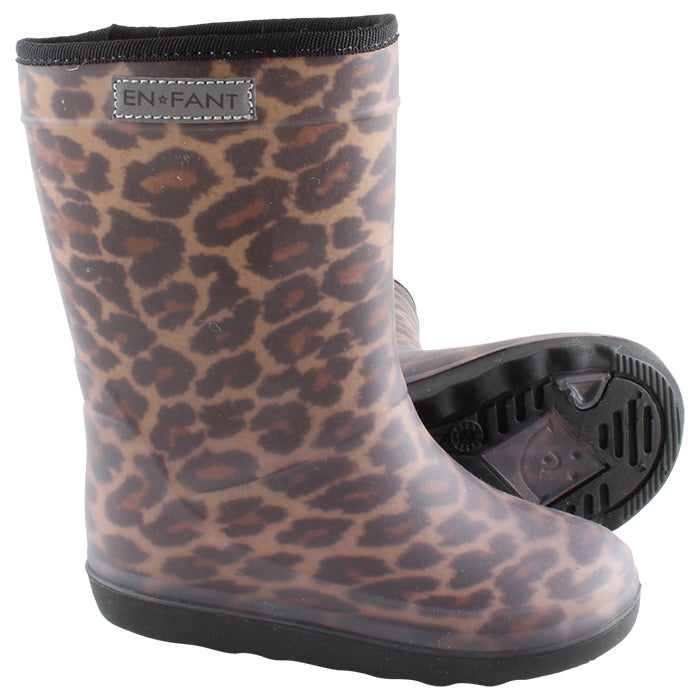ADULT Thermoboots Leopard Brown