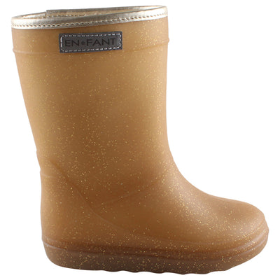 Thermoboots Metallic Gold
