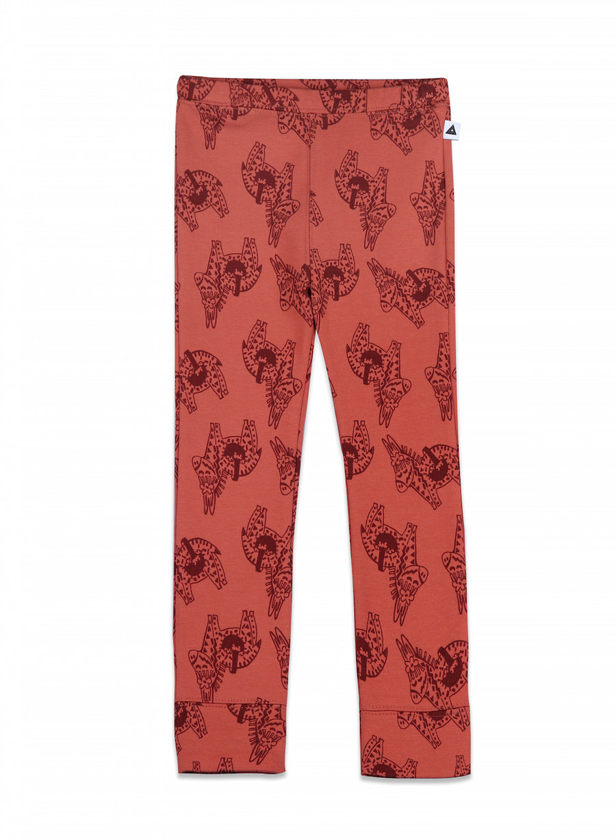 Legging James Soft Red Donkey