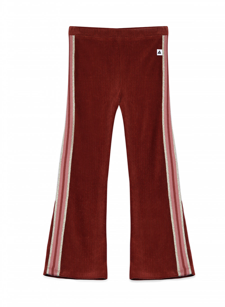 Flared Legging Liv Bordeaux