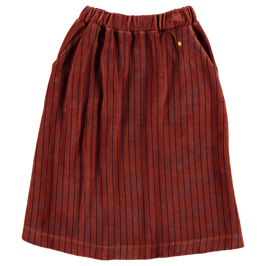 Rok Velvet all over stripe