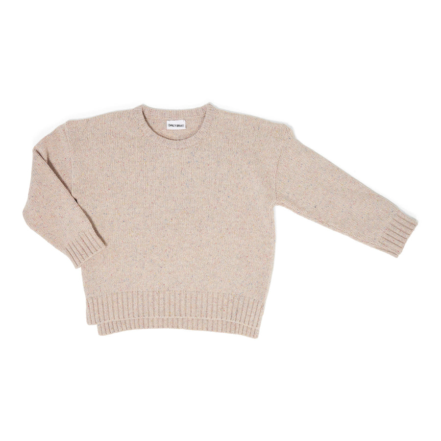 Oversized sweater Knit Ashton Ivory