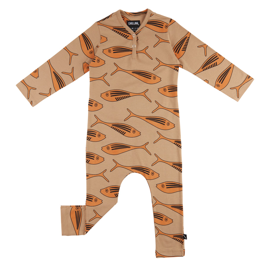 Carlijnq Jumpsuit Gold Fish