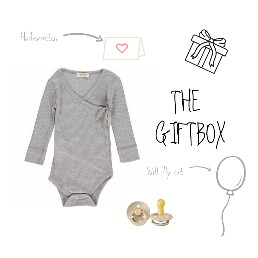 GIFTBOX UNISEX GREY - 28 EURO