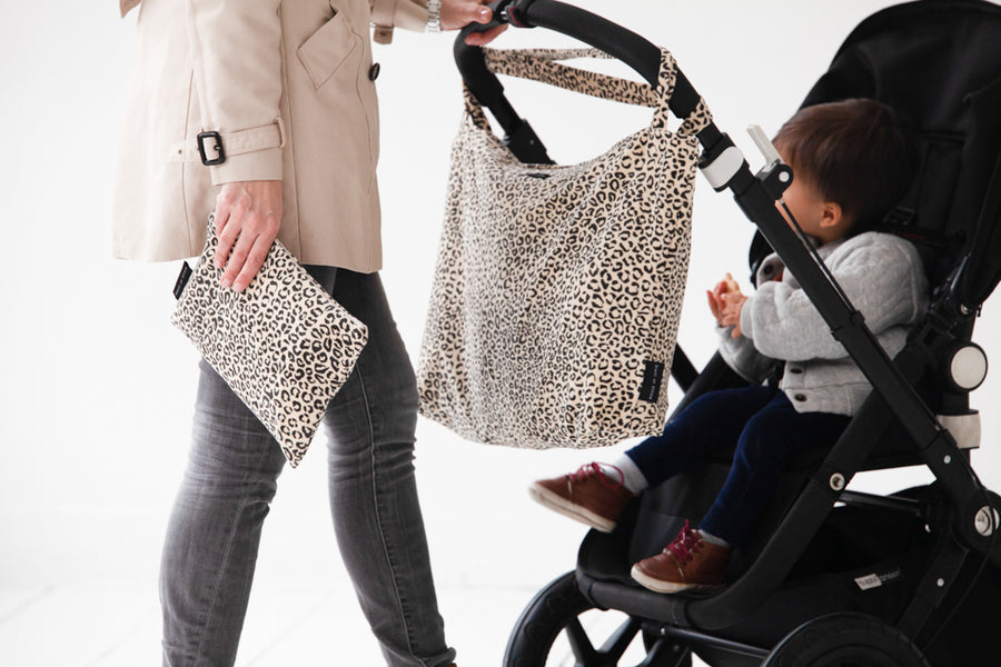 On The Go Bag - Snow Leopard