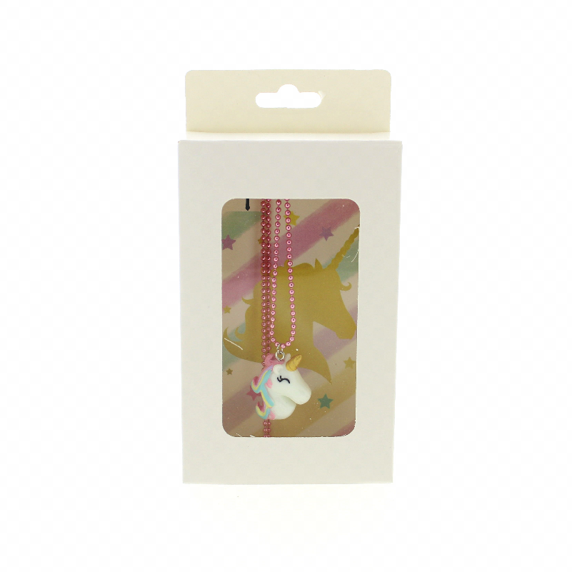 Kinderketting Unicorn Roze