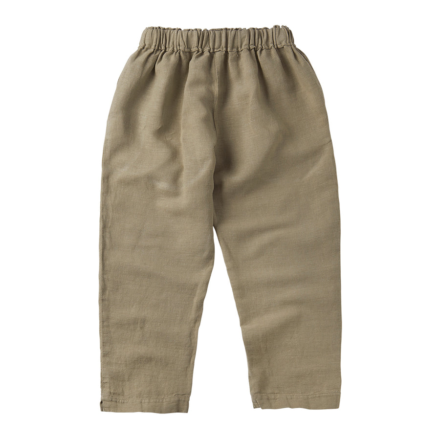 Linen Trouser Laurel Oak