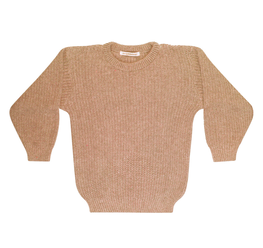 Sweater knit beige