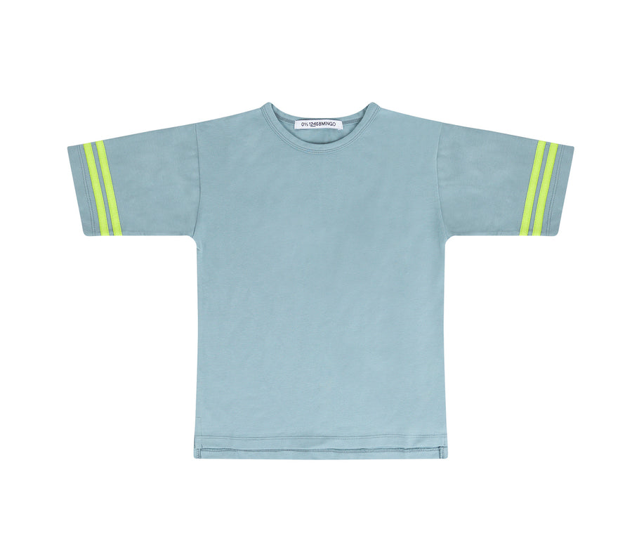 T-shirt Smoke Blue/Sun Glow