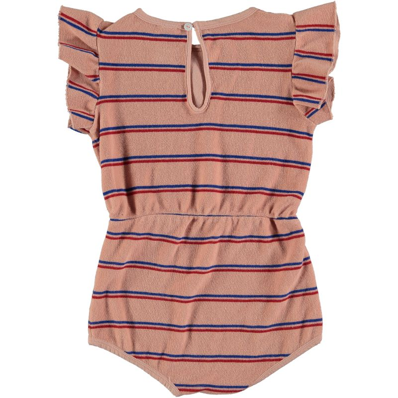 Playsuit Frill Stripe