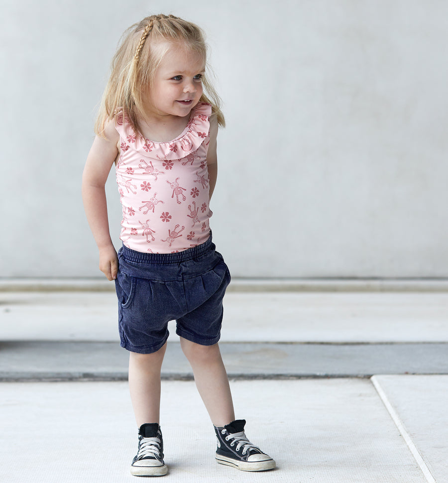 Short Grace Denim mini