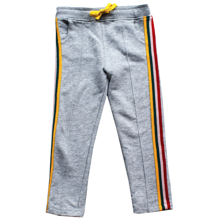 Track Pants Grey Tapes