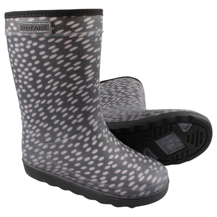 Thermoboots Zwart Dots