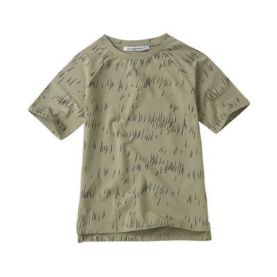 T-shirt Grass Print Oak