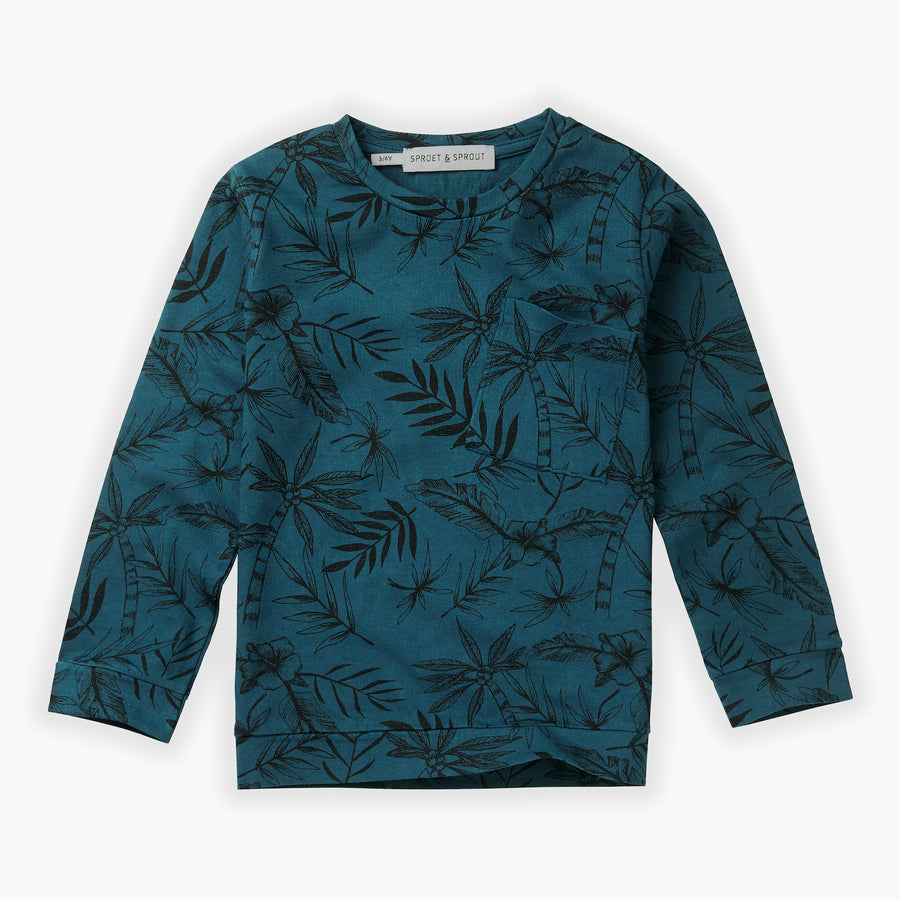 T-shirt Tropical Aop