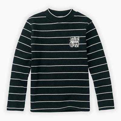 Sproet & Sprout Turtle Neck T-shirt Stripe