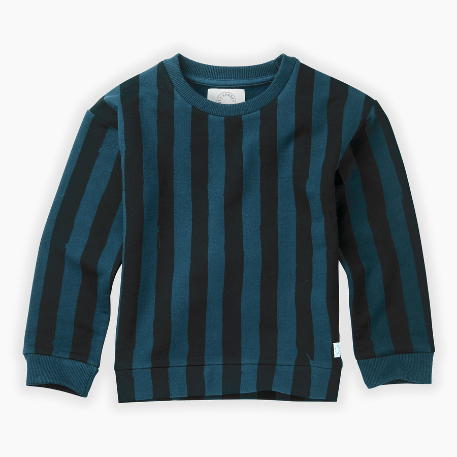 Sweatshirt Painted Stripe