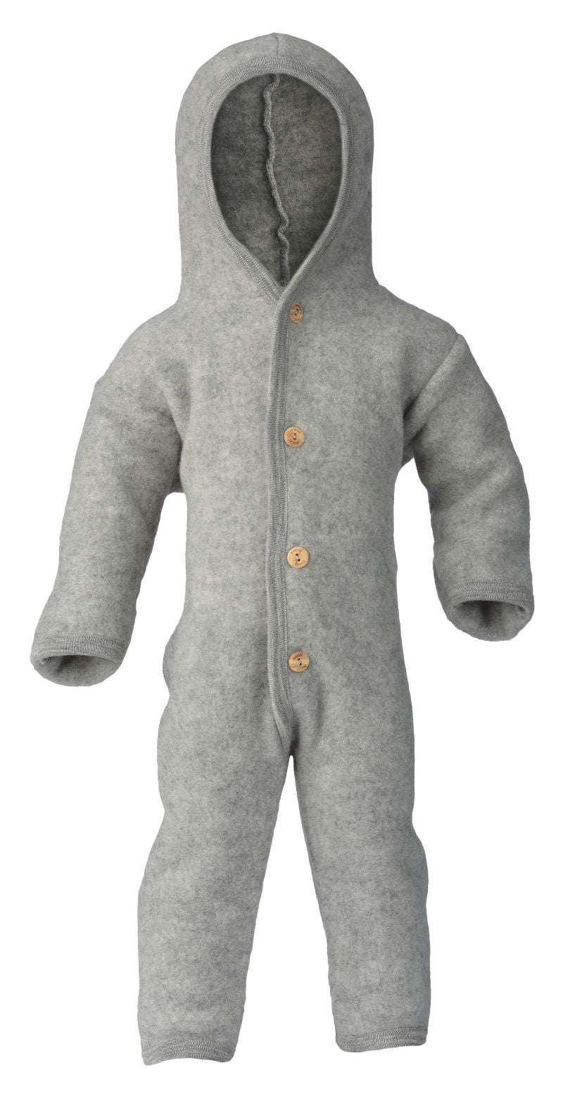 Engel Natur overall wolfleece - light grey