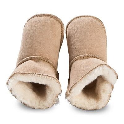 Sheepskin Bootie Chestnut