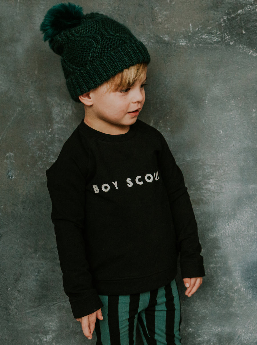 Sweater Boys Scout Black