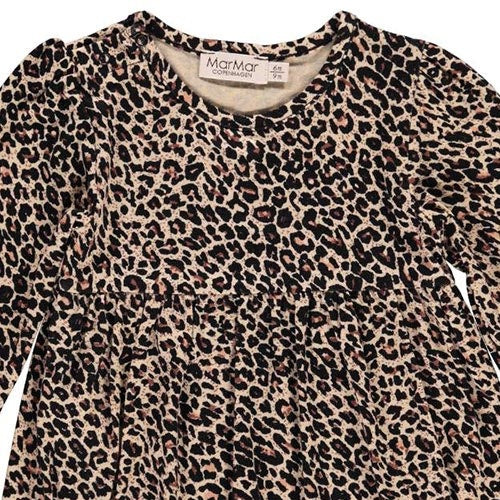 Jurk Ramona Brown Leopard