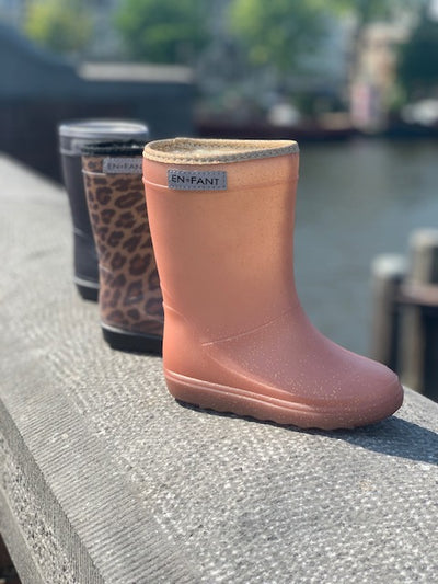 Thermoboots Metallic Rose