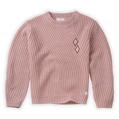 Sweater Diamond Mauve