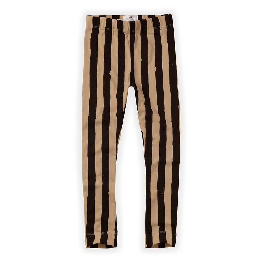 Legging Painted Stripe Nougat