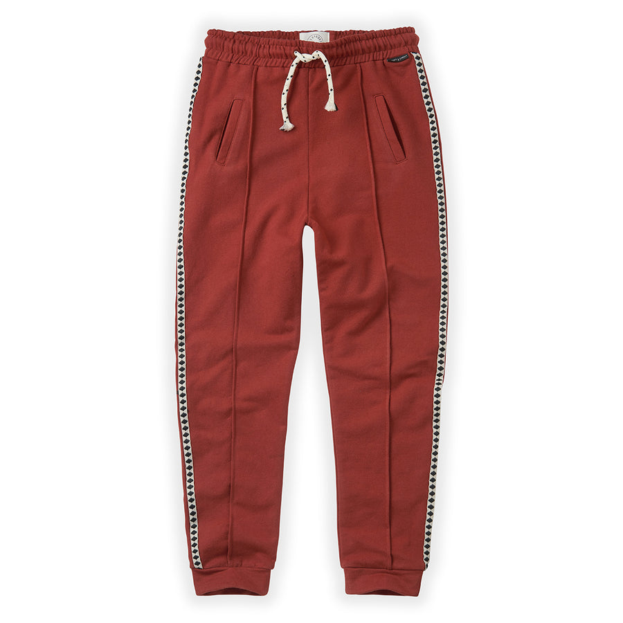 Trackpants Beet Maroon