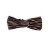 Haarband Velvet Pleat Chocolate