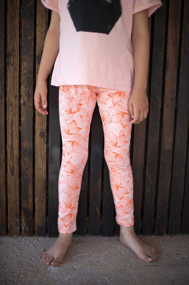 Legging Flowers