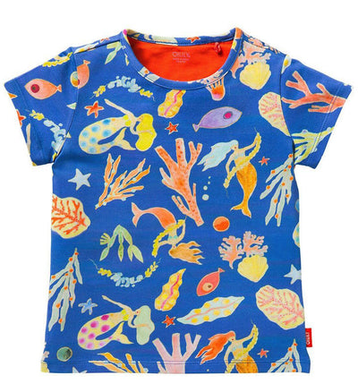 Oilily T-shirt Ti Mermaid Fish front