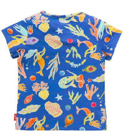 Oilily T-shirt Ti Mermaid Fish back