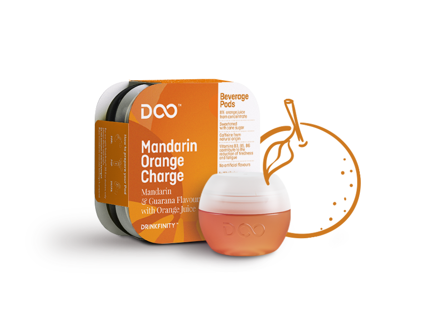 Mandarin Orange Charge – Drinkfinity - A drink for every you