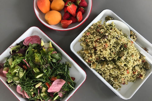 Easy Bank Holiday Salads from The Social Pantry.