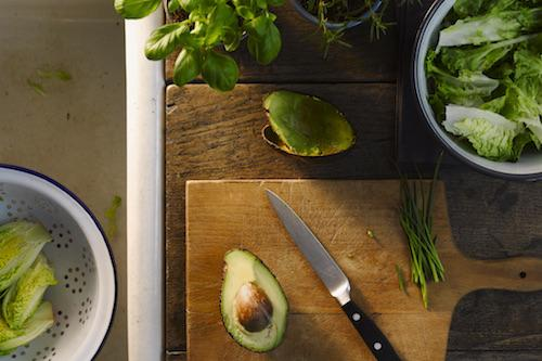 Summer salads: Using your enamelware this season.