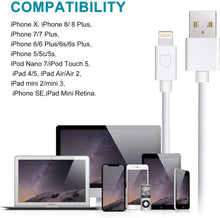 4Pack 3FT Lightning to USB Charging Cable for iPhones