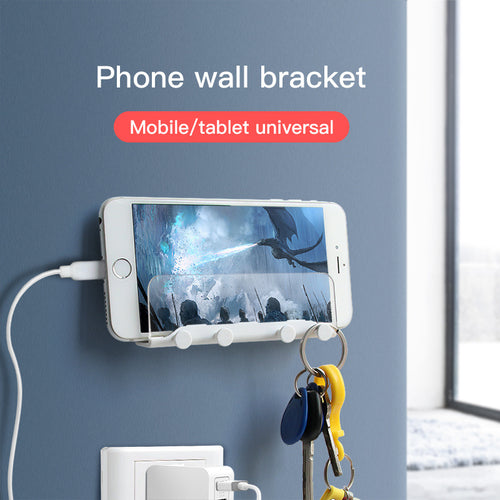 Wall-Mounted Bracket For Mobile Phones