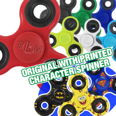Original Fidget Spinner With Character Spinner