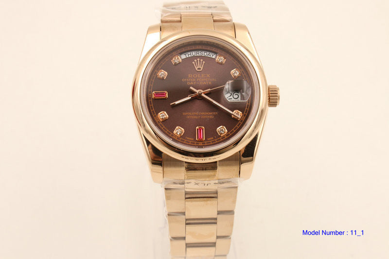 ★Rolex Luxury DAY-DATE Watch★