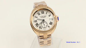 Cartier Men's Drive De gold Watch - 2 colors