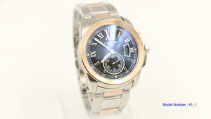 Cartier Metallic Calibre De Stainless Steel