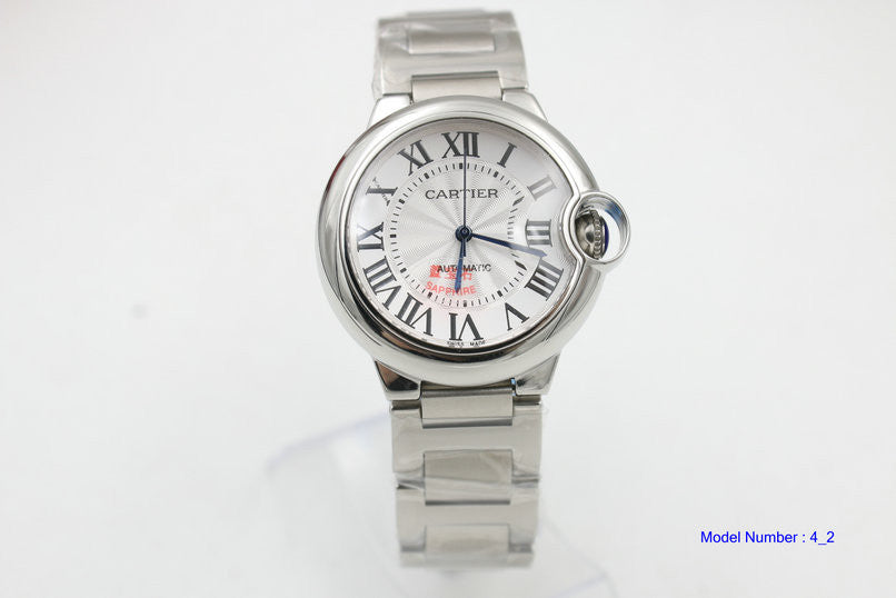 Cartier Men's Gray Ballon Bleu De Watch