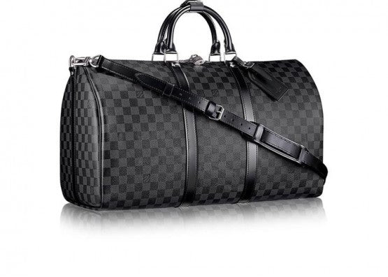L V Keepall Duffle Bag Pattern