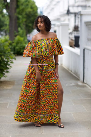 Bisi off shoulder Matching Set - M.A.DKollection