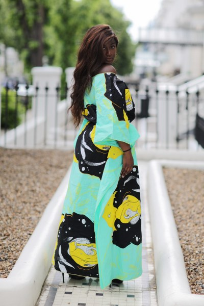 Angela Maxi Kaftan Dress - M.A.DKollection