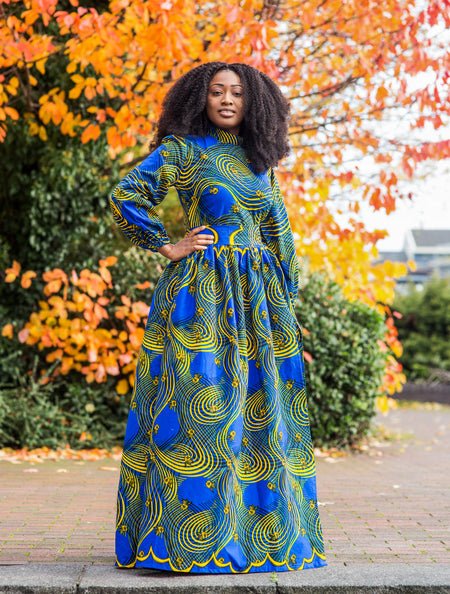 Angela Maxi Kaftan Dress