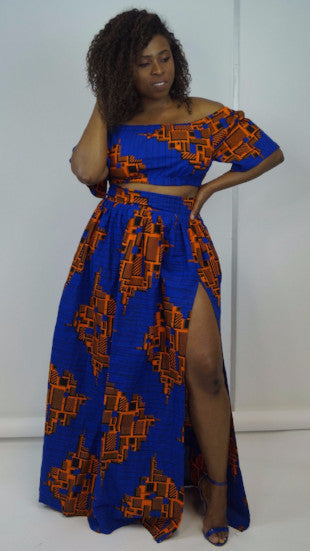 Timi Matching Skirt and Top Set