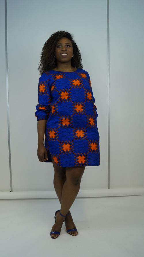 Iyabo loose fit Dress
