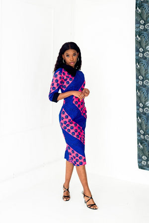 Tomi Midi Pencil Dress - M.A.DKollection